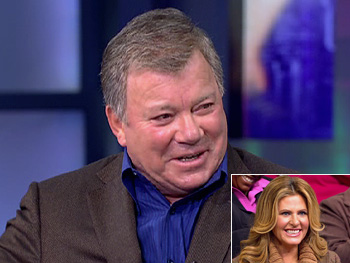 William Shatner and his wife, Elizabeth