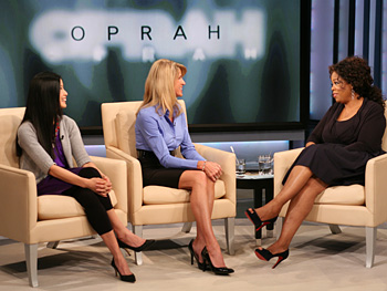 Lisa, Marian and Oprah