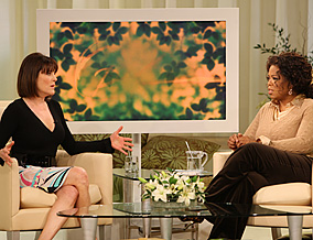 Marianne Williamson and Oprah