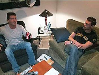 Ryan Seacrest and Simon Cowell