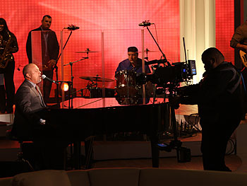 Billy Joel rehearses 'Only the Good Die Young.'
