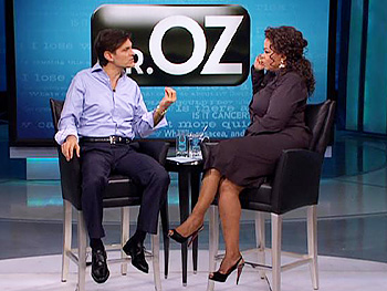 Dr. Oz investigates sleep disorders.