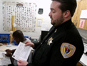 Fort Worth Animal Shelter manager Keane Menefee
