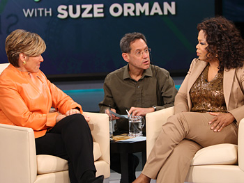 Suze Orman, Dean and Oprah