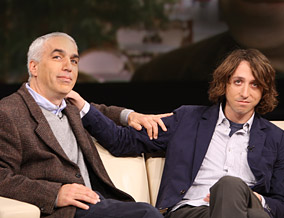David Sheff and his son Nic Sheff
