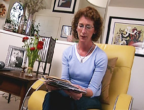 Kathleen says she supported her drug-addicted daughter by sending postcards.