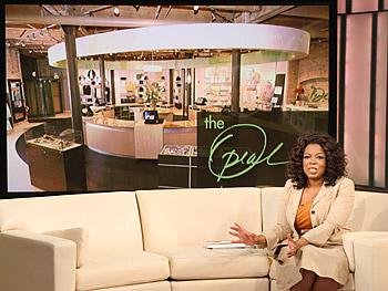 Oprah introduces The Oprah Store.