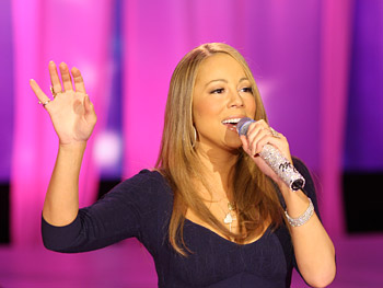 Mariah Carey performs 'Bye Bye.'