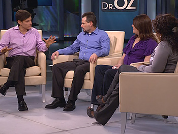 Dr. Oz says not to try to control your spouse's behavior.