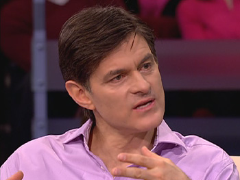 Dr. Oz tells Tony he does not have lung disease.