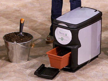 An indoor composter