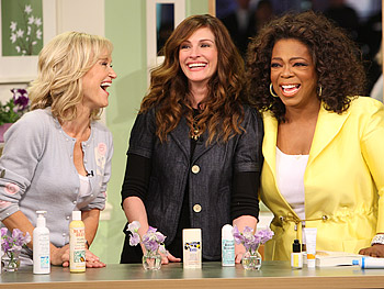 Sophie Uliano, Julia Roberts and Oprah talk about deodorant.