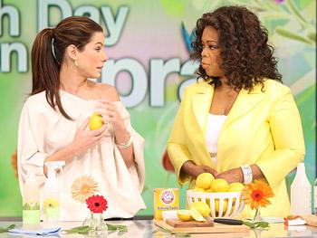 Lemon, an all-natural disinfectant