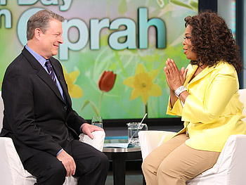 Al Gore and Oprah