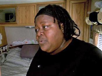 Fannie lost her home in Hurricane Katrina.