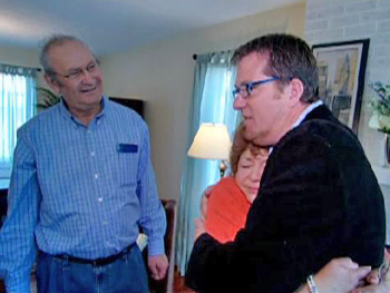 Peter pays a surprise visit to Sharyn and Marvin.