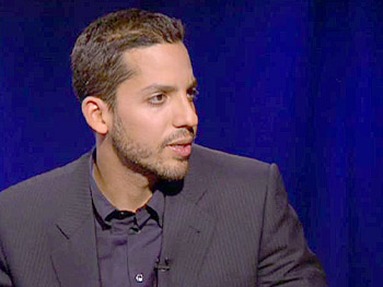 David Blaine talks about the most difficult minutes.