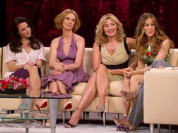 Sarah Jessica Parker, Cynthia Nixon, Kristin Davis and Kim Cattrall talk about the end of the series.
