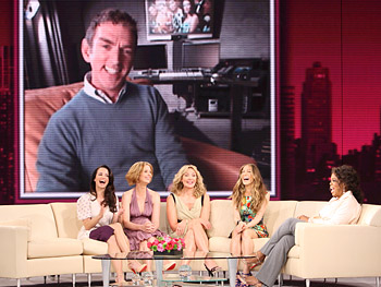 Oprah and the cast of 'Sex and the City' talk to Michael Patrick King.