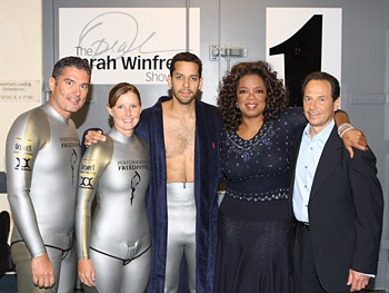 Kirk, Mandy-Rae, David Blaine, Oprah and Dr. Ralph Potkin
