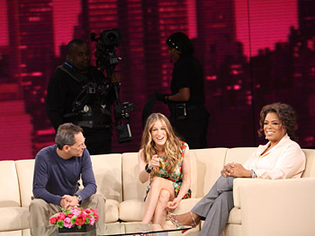 Dean, Sarah Jessica Parker and Oprah