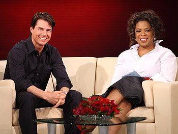 Tom Cruise and Oprah