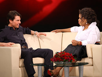 Tom Cruise talks about filming 'Mission: Impossible.'