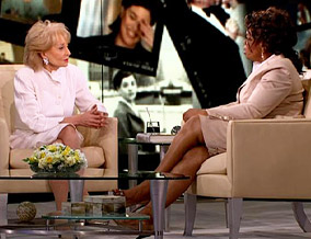 Barbara Walters and Oprah