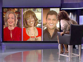 Ali Wentworth, Gayle King and Mark Consuelos talk about Barbara Walters