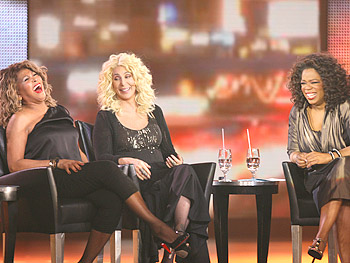 Oprah interviews Cher and Tina Turner