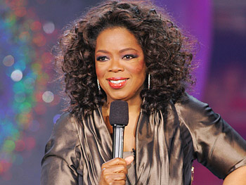Oprah at Las Vegas's Caesars Palace