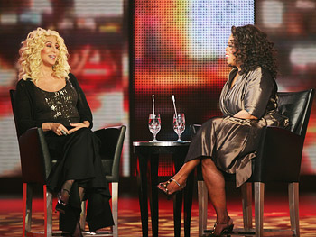 Cher and Oprah