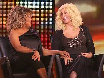 Tina Turner and Cher reminisce about their first meeting.