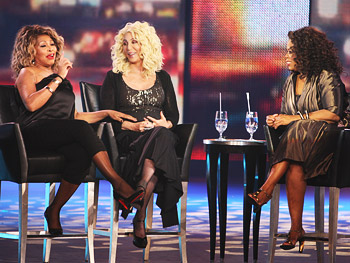 Tina Turner and Cher on aging