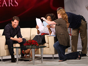 Tom Cruise, Oprah, Dean and a show producer
