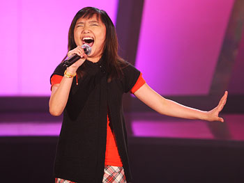 Charice Pempengco performs.