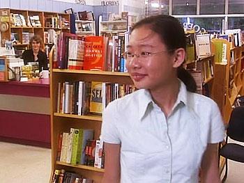 Nancy Yi Fan, author of 'Swordbird'