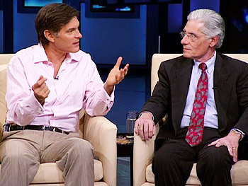 Dr. Oz talks about his past-life regression.
