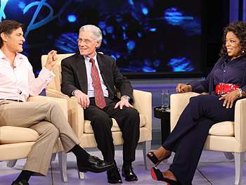 Dr. Oz, Dr. Weiss and Oprah