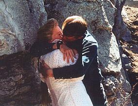 Elissa Wall's ex-husband forces a kiss.