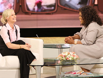 Amy Poehler talks about live television.