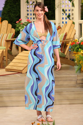 Conceal with a caftan.