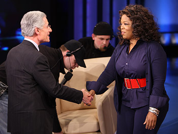 Dr. Brian Weiss and Oprah