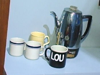 Lou Grant's coffee pot