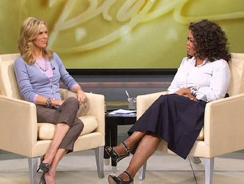 Kathy Freston and Oprah