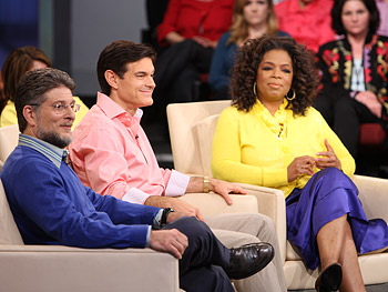 Dr. Grayson, Dr. Oz and Oprah
