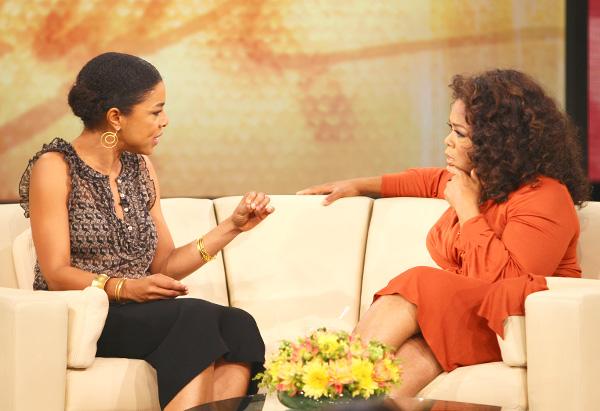 Sophie Okonedo and Oprah