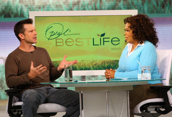 Bob Greene and Oprah