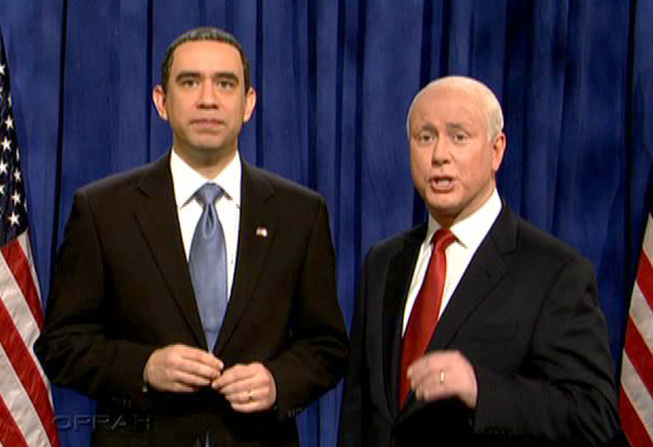Fred Armisen and Darrell Hammond