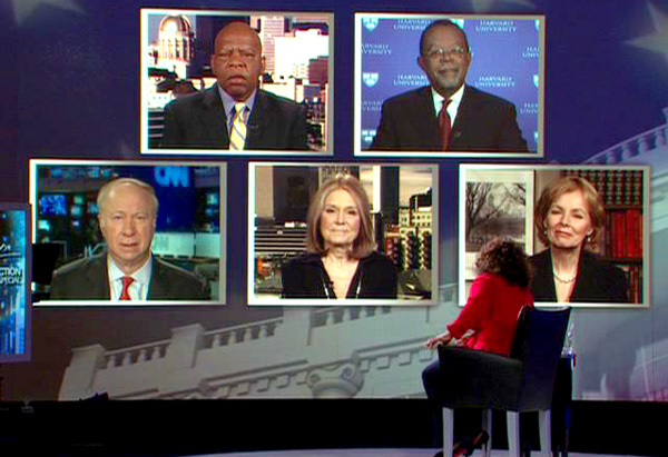 Henry Louis Gates Jr. and David Gergen talk about what defined President-elect Obama's campaign.